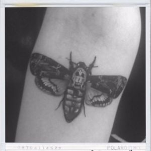 #moth #mothtattoo #silenceofthelambs #tattoomoth #blackandgreytattoo #tattoo #tattoos #ink #inked #smalltattoo