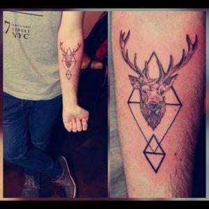 #deer #geometric