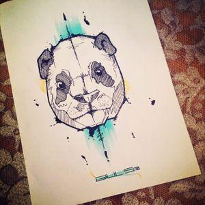 Pandizzata #panda #sketches #tattooskatches #sketchtattoo #animaltattoos #spiritanimal #pandatattoo #giulsinkart