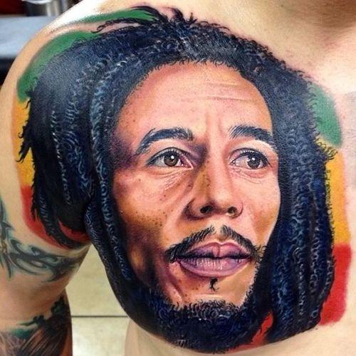 #bobmarley #onelove #rasta #portrait #realistic #celebrity