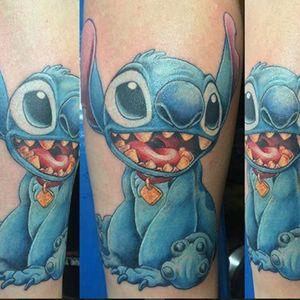 Stitch #dudestattoos #stitch #cartoon #animation