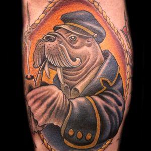 #Russabbott #walrus #smoking #pipe