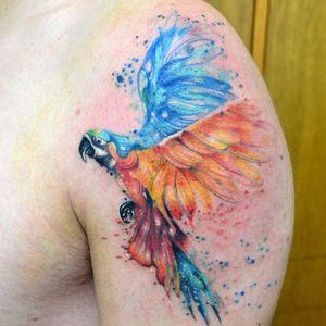 #tatuagens #javiwolf #aquarela #coloridas #watercolor