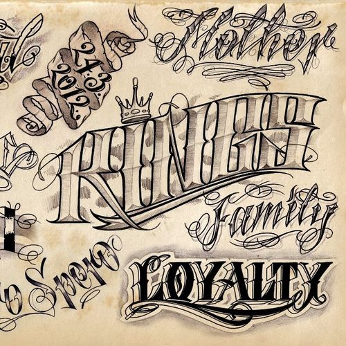#lettering #kings #loyalty #mother #family