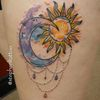 Sun and moon by stephenltattoo