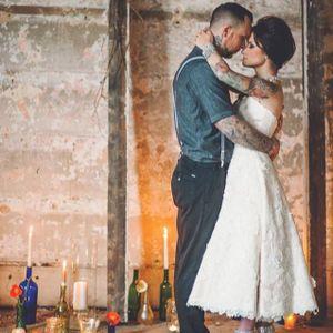 #wedding #couple #tattooedcouple #tattooedparents #tattooedbride #love