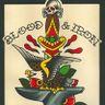 Blood And Iron Tattoo