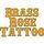 Brass Rose Tattoo