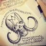 Mammoth American Tattoo