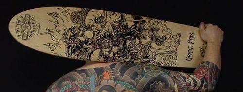 Fox Box Tattoo