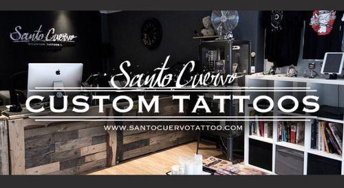 Santo Cuervo Custom Tattoos