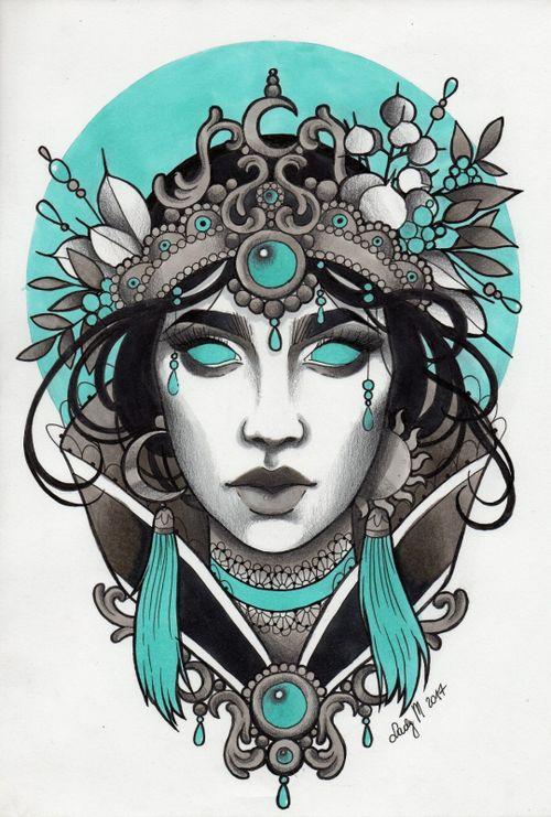 Lady M. Tattoo