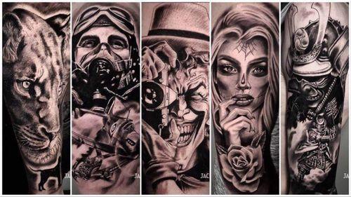 Jack Carroll Tattoos