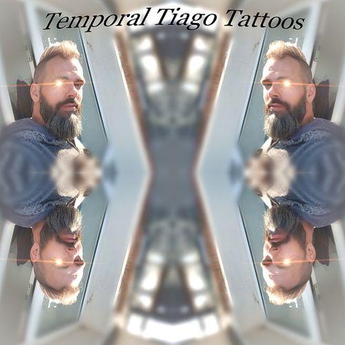 Temporal Tiago Tattoos