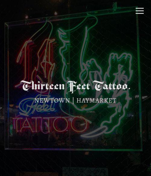 Thirteen Feet Tattoo