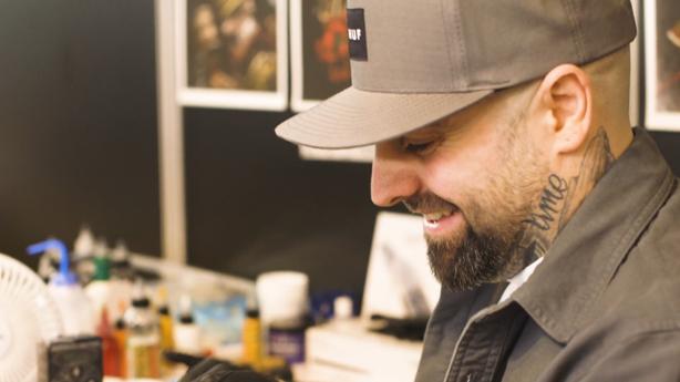 SESSIONS: Fudoshin Tattoo's Steve Morante at The Mondial Du Tatouage