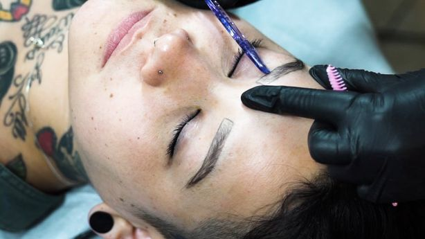 BLINK - Eyebrow Microblading by Bethany Wolosky at Three Kings Tattoo, Brooklyn