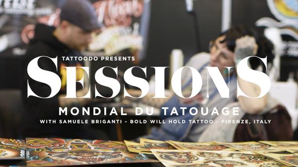 SESSIONS: Samuele Briganti at The Mondial Du Tatouage