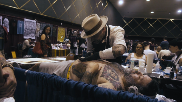 SESSIONS: Pino Cafaro at the San Diego Tattoo Invitational