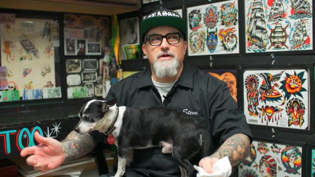 SESSIONS: Steve Von Riepen at Queen Street Tattoo in Honolulu, HI