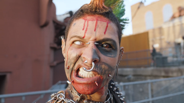 LONDON Inkounters: Zombie Punk at The London Tattoo Convention