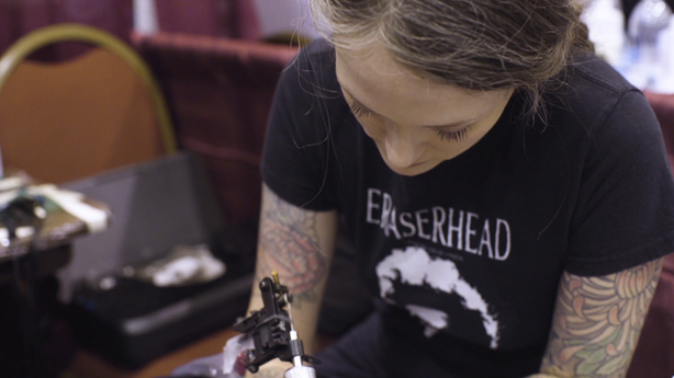 SESSIONS: Jamie Mahood at The San Diego Tattoo Invitational