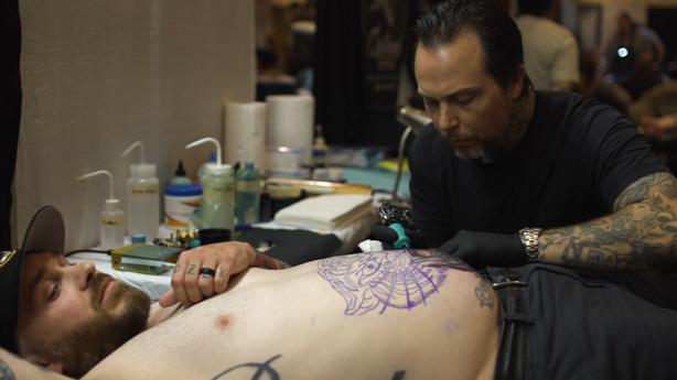 SESSIONS: Chris Stuart at Pagoda City Tattoo Fest