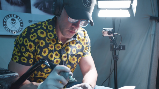SESSIONS: Ralf Nonweiler at The London Tattoo Convention