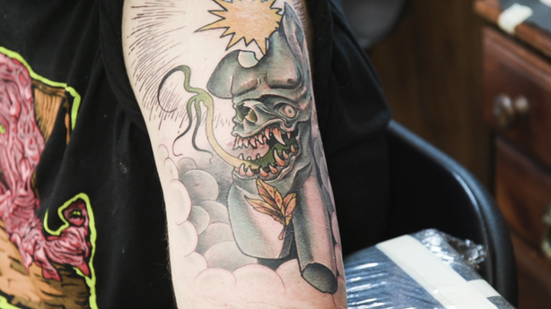 BLINK: Stampy Goblyn at Seven Swords Tattoo Company