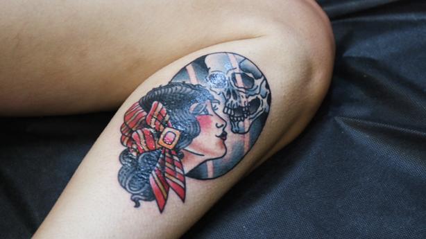BLINK: Aaron Francione at Seven Swords Tattoo Company