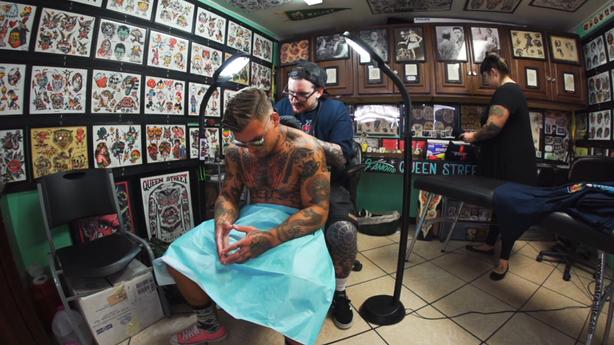 SESSIONS: Keir McEwan at Queen Street Tattoo in Honolulu, HI