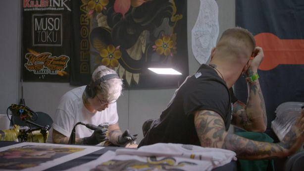 SESSIONS: Debora Cherrys at London Tattoo Convention