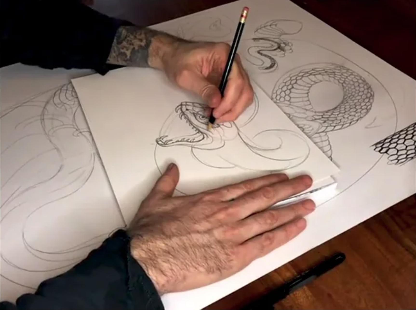 Chris Garver: Snakes & Scales