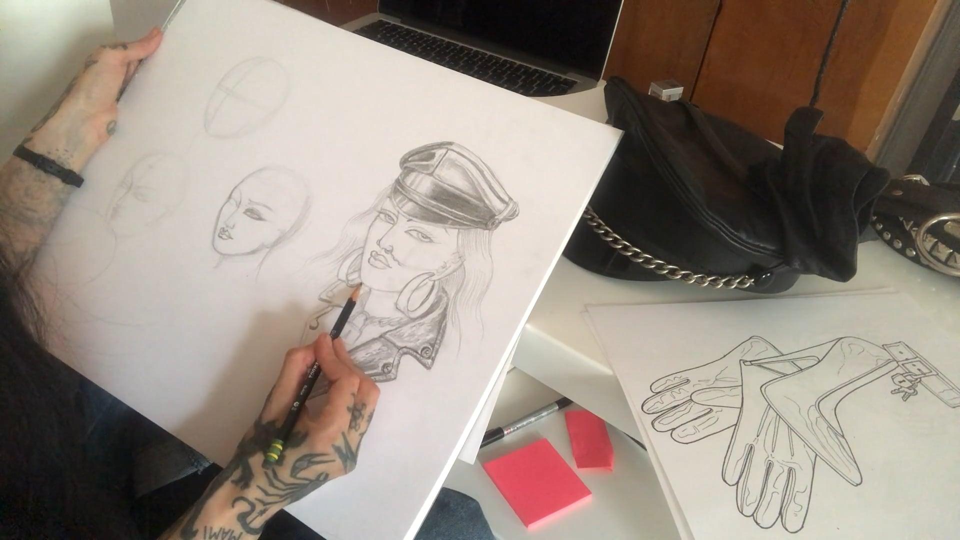 Tamara Santibanez: Polished Metal, Leather Luster