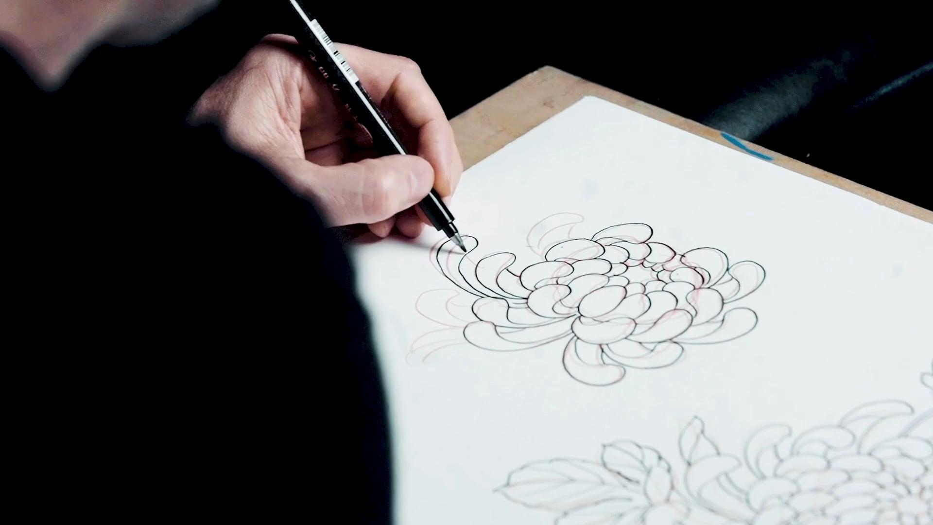 Chris Garver: Golden Flower