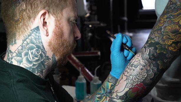 SESSIONS: Jeb Maykut at Five Points Tattoo - Chinatown, NY