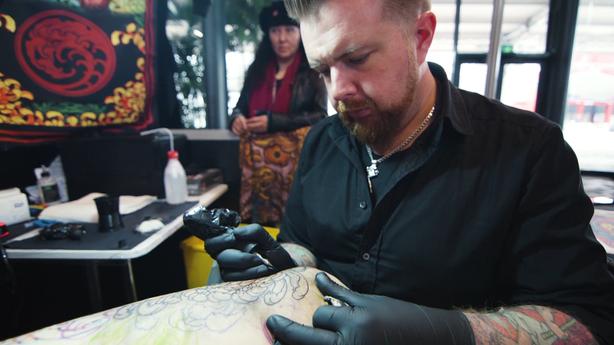 SESSIONS: Chris Crooks at The Mondial Du Tatouage